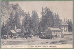 CPA - SUISSE - VALAIS - LAC TANAY - HOTEL DES DÉPENDANCES - éditeur J.J. / 7319 - VS Valais