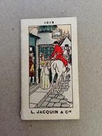 """Calendrier 1913 Calendar - Illustrateur Harry Eliott """" L. Jacquin & Cie - Confiseur Chocolatier """"- Chasse Courre - AA119 - Calendars"""