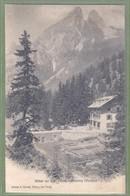 CPA Rare - SUISSE - VALAIS - HOTEL DU LAC TANAY S/VOUVRY - Petite Animation -  éditeur A. Parchet / Hotel Du Lac Tanay - VS Valais