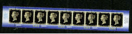 ESTONIA 2015 PENNY BLK STRIP OF 4  STAMP ON STAMP MNH S11565-2 - Stamps On Stamps