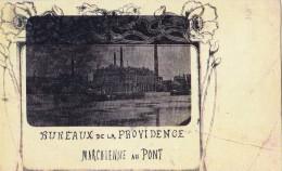 Marchienne-au-Pont Bureaux De La Providence Circulée En 1905 - Autres