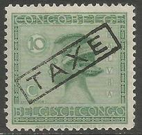 Belgian Congo - 1923 Taxes Handstamp TAXE Instead Of TAXES MH *    Sc TX63 - Belgisch-Kongo