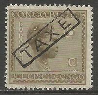 Belgian Congo - 1923 Taxes Handstamp TAXE Instead Of TAXES MH *    Sc TX64 - Portomarken: Ungebraucht