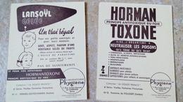 12 Cartes LANSOIL GELEE LABORATOIRES PHYGIENE HORMANTOXONE Collection La Douce France VIEILLES FONTAINES Françaises - Publicité