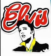 Stickers  1 Stuks Elvis - Autres Collections