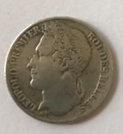 Pièce De Monnaie. Leopold I - Tête Laurée. 1 Franc. 1844. Diam. 23 Mm - 1831-1865: Leopold I