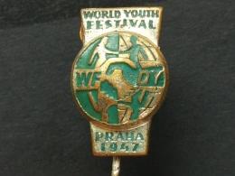 Z 210 - Youth Sports Festival WFDY PRAHA 1947  Athletic Marathon - Athletics