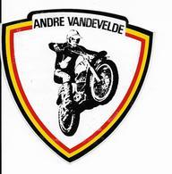 Stickers  1 Stuks Andre Vandevelde - Autres Collections