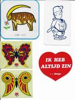 Stickers  5 Stuks Allerlei - Autres Collections