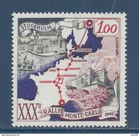 Monaco - YT N° 556 - Neuf Sans Charnière - 1961 - Monaco
