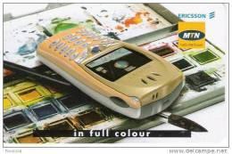Afrique Du Sud-South Africa, Phone Ericsson, MTN Chip - Afrique Du Sud