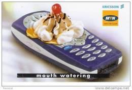Afrique Du Sud-South Africa, Phone Ericsson, MTN Chip - Zuid-Afrika