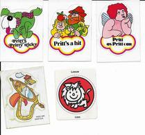 Stickers  5 Stuks Pritt's - Autres Collections