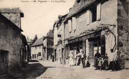 Vignois: La Grand Rue. - Autres Communes