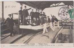 PARIS - Luna Park - Water Chute, Lancement D'un Bateau - CPA TBon Etat  (voir Scan) - Exhibitions