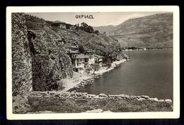 MACEDONIA - Ohrid / Postcard Not Circulated, 2 Scans - Macédoine