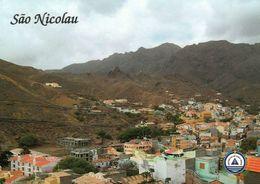 1 AK Cap Verde / Kapverden * Ansicht Der Insel São Nicolau * - Cape Verde