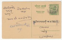 India Preprinted Postal Stationery Postcard B181020 - Postcards