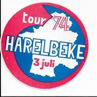 Stickers  1 Stuks Harelbeke - Autres Collections