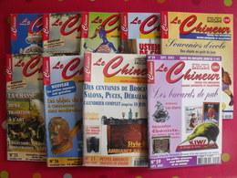 """9 Revues """"le Chineur"""" 1999-2002 - Collectors"""