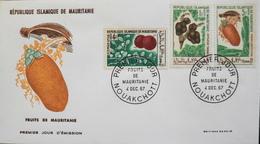 MAURITANIE - 1er JOUR 1967 - Fruits De Mauritanie - Daté : Nouakchott 4.12.1967 - TBE - Mauritanië (1960-...)