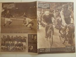 Miroir Sprint 28 Mai1951 Cyclisme Bordeaux Paris Chatellerault Sainte Maure Boxe Football Nice - Sport