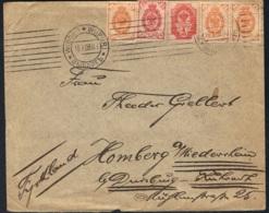 1908 Brief Gelaufen Michel 40 45 47 Siehe Scan - Sonstige