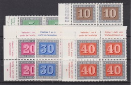 SUISSE 1945: Série 'PAX', Petit Lot De Blocs De 4 Avec BDF/CDF, Neufs**, LUXE ! - Ongebruikt