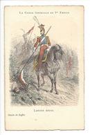 20649 -La Garde Impériale Du 1er Empire Lancier Rouge Dessin De Raffet - Régiments