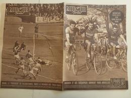 Miroir Sprint 16 Avril 1951 Paris Bruxelles Cyclisme Tour De L'Est Dôle Rocca Del Papa Football - Sport