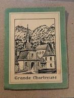 "Calendrier 1939 - "" Grande Chartreuse - Fabrication Pères Chartreux - Jaune & Verte "" - Calendar - AA119 - Calendriers"