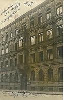 Carte Photo Leipzig Lohrstrasse N°4 Septembre 1908 - Leipzig