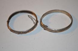 2 Bracelets Jonc Anciens13.85g - Bracelets