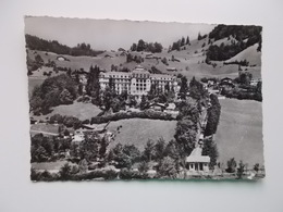 CPA - Hotel TERRACE - Engelberg, Mit Drahtseilbahn - OW Obwalden