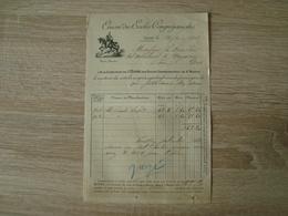 FACTURE OEUVRE DES ECOLES CONGREGANISTES SALON 1903 - Francia