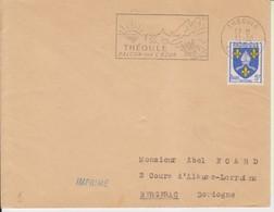 "1955 France 06 Alpes Maritimes Theoule Flamme ""Balcon Sur L'Azur"" - Postmark Collection (Covers)"