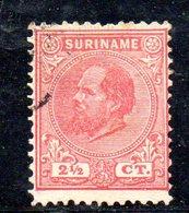 T239 - SURINAME , 21/2 Cent N. Yvert  3  Usato - Suriname ... - 1975