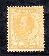 T238 - SURINAME , 2 Cent N. Yvert  2  * - Suriname ... - 1975