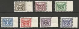 Belgian Congo - 1957 Postage Due  MNH **    Sc J13-19 - Belgian Congo