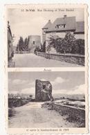 Sankt Vith: Rue Hecking Et Le Tour Büchel. - Saint-Vith - Sankt Vith