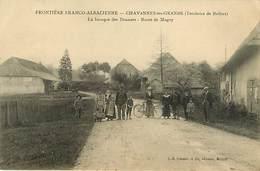 90 Chavannes Les Grands : Baraque Des Douanes  Route De Magny Douane - France