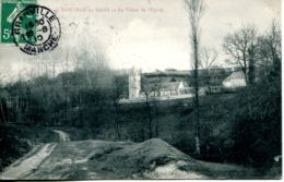 N°2283 A -cpa Donville Les Bains -la Vallée De L'église- - France