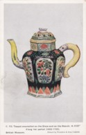 AN61 Enamelled Teapot, K'ang Hsi Period - British Museum Postcard - Belle-Arti