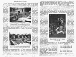 LA PREPARATION De L'OCRE   1913 - Other
