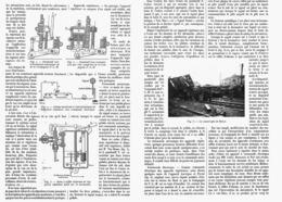 """LA SECURITE DES VOIES FERREES  """" La Reoetition Des Signaux Sur Les Locomotives """"  1913 ( 2 ) - Ferrovie"""