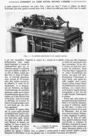 COMMENT LA TOUR EIFFEL ENVOIE L'HEURE DANS LE MONDE ENTIER   1913 - Technical