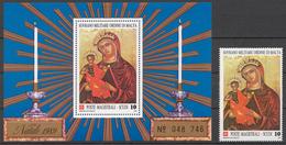 SMOM 1989 Sas# 320+ Bl.28** CHRISTMAS - Malte (Ordre De)