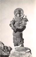 MADONE DE LA PAIX Sculpture De RIOUSSE Faite D Eclats D Obus Ramasses Sur Place Au Col Madone 22(scan Recto-verso) MA532 - France
