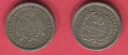 § 10 CENTIMOS 1877    ( KM14)   TB+ 7 - Uruguay