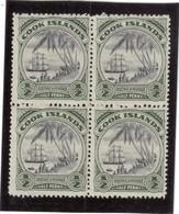 V2 - Cook Island - PO 31** De 1932 - Bloc De 4 - Débarquement De James COOK. - Cook